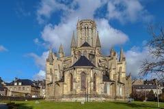 库唐塞大教堂,法国 库存照片