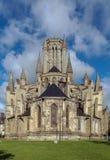 库唐塞大教堂,法国 免版税库存图片