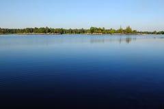 水库在清迈,泰国 图库摄影