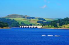 水库在高峰区英国 库存照片