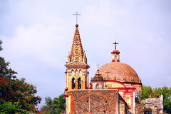 库埃纳瓦卡大教堂II 免版税库存图片