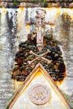 库埃纳瓦卡大教堂XV 免版税库存照片