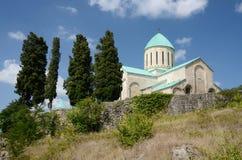 库塔伊西或Bagrati大教堂, 11世纪教会,乔治亚 免版税库存图片