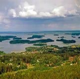 库奥皮奥,芬兰 免版税图库摄影