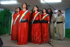 库尔德人的妇女的 库存图片