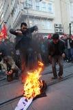 库尔德人的宴餐Newroz 免版税库存图片
