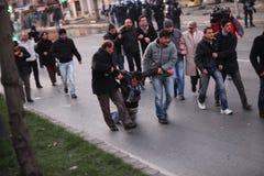 库尔德人的演示 免版税图库摄影