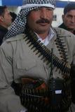 库尔德人的peshmerga 免版税库存照片