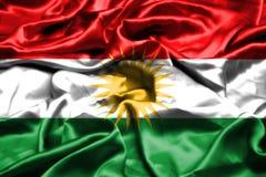 库尔德斯坦拷贝沙文主义情绪在风 向量例证