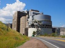 库尔斯啤酒厂在金黄科罗拉多 库存图片