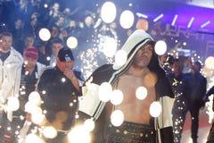 库布拉特Pulev拳击手 免版税图库摄影