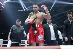 库布拉特Pulev拳击手 免版税库存照片