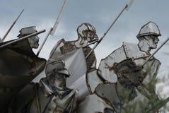 贝洛库恩纪念品-纪念品公园-布达佩斯 库存图片