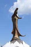 库恩Iam雕象在澳门 库存图片