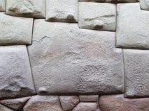 库斯科秘鲁的12边石头  库存照片
