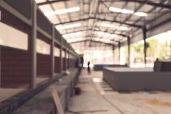 仓库的被弄脏的图象 库存照片