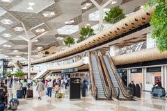 巴库盖达尔・阿利耶夫机场 免版税库存图片