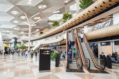 巴库盖达尔・阿利耶夫机场 免版税图库摄影