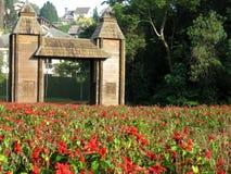 库里奇巴美丽的公园 免版税图库摄影