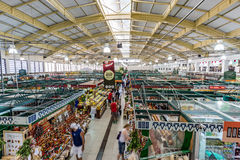 库里奇巴, PARANA/BRAZIL - 2016年12月28日:库里奇巴自治都市市场 免版税库存照片