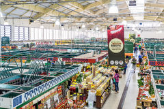 库里奇巴, PARANA/BRAZIL - 2016年12月28日:库里奇巴自治都市市场 免版税库存图片