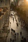 巴库,阿塞拜疆,中心街道 库存图片