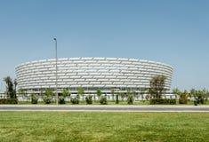 巴库- 2015年5月10日:5月的巴库奥林匹克体育场 免版税库存照片