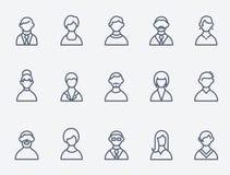 应用图标互联网人介绍项目您万维网的网站 免版税库存照片