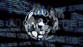 应用象和股票 皇族释放例证