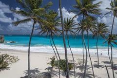底下海湾,巴巴多斯,印度西部 库存图片