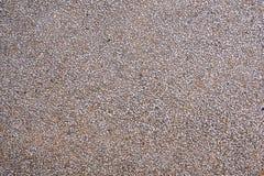 底层由小沙子小卵石制成 免版税图库摄影