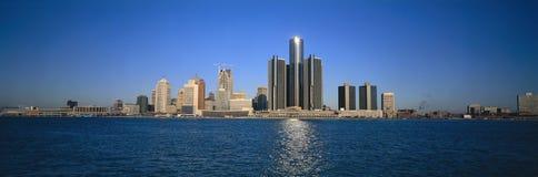 底特律地平线 库存照片