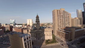 底特律天线城市 股票视频