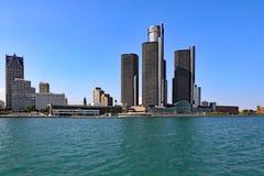 底特律密执安 免版税图库摄影