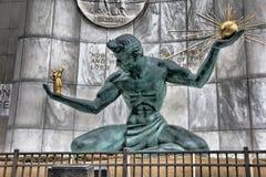 底特律的精神 免版税图库摄影