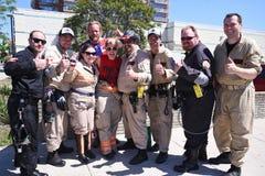 底特律3月Ghostbusters游行的 库存图片