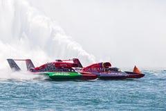 2013年底特律APBA金杯赛种族 免版税库存照片