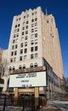 底特律Fisher剧院 库存照片