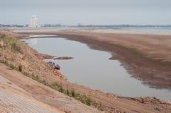 底部湄公河 库存图片