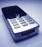 底部电池左电话 免版税库存照片