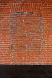 底部砖褐色纹理顶层墙壁黄色 库存照片
