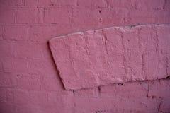 底部砖褐色纹理顶层墙壁黄色 免版税库存图片