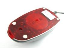 底部计算机红外线鼠标 免版税库存照片