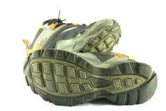底部鞋子体育运动 库存照片