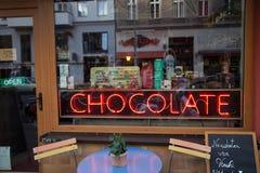 店面在克罗伊茨贝格 免版税图库摄影