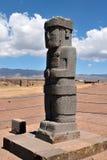 庞塞巨型独石,玻利维亚 免版税库存照片