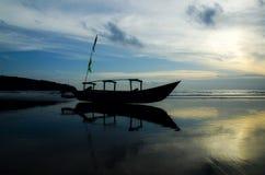 庞岸达兰海滩 图库摄影