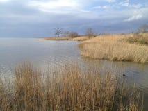 庞恰特雷恩湖 图库摄影