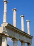 庞贝城罗马废墟 免版税库存图片