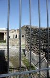 庞贝城古城 库存图片